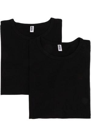 Moschino T-shirt à logo au dos