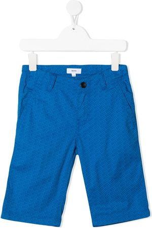 BOSS Kidswear Bermuda à logo imprimé