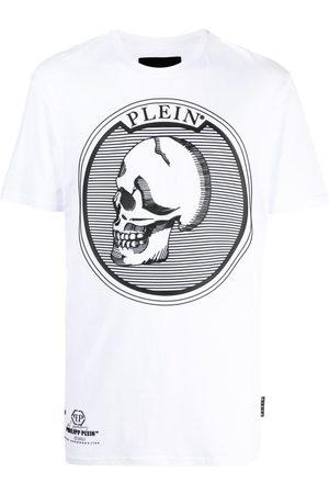 Philipp Plein T-shirt à imprimé tête de mort