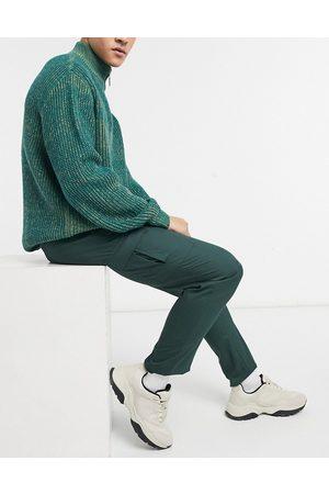 ASOS DESIGN Pantalon cargo habillé ajusté - foncé
