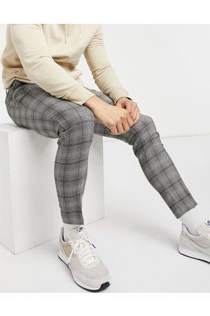 ASOS DESIGN Pantalon habillé super ajusté à carreaux