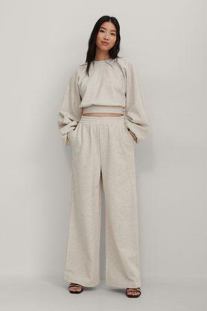 NA-KD Biologiques Pantalon De Survêtement Ample Taille Élastique