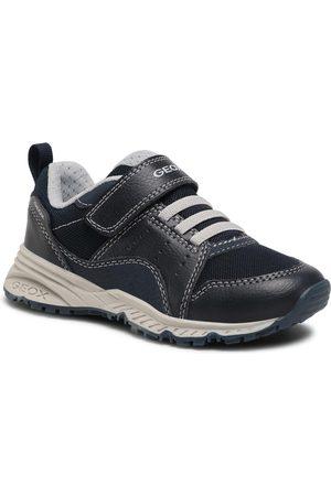 Geox Garçon Baskets - Sneakers - J Bernie B. A J1511A 0CEME C0661 S Navy/Grey