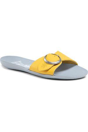 Fly London Femme Mules & Sabots - Mules / sandales de bain - Molyfly P144759003 Lemon