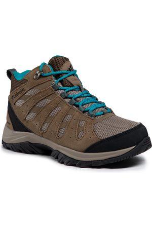 Columbia Femme Chaussures - Chaussures de trekking - Redmond III Mid Waterproof BL0168 Khaki III/Sea Level 297