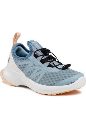 Salomon Chaussures - Sense Flow J 413033 09 W0 Ashley Blue/White/Almond Cream