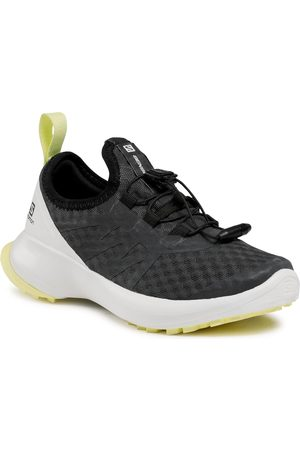 Salomon Chaussures - Sense Flow J 413031 09 W0 Ebony/White/Charlock