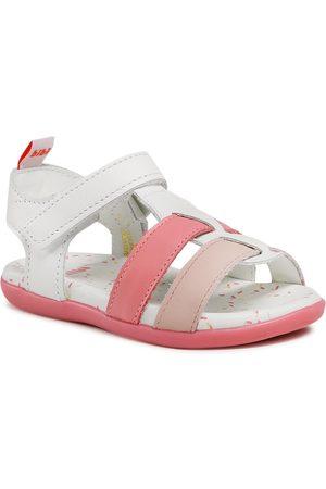 BIBI Sandales - Baby Soft 1142030 White/Cherry/Camellia