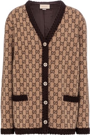 Gucci Cardigan GG en jacquard de laine