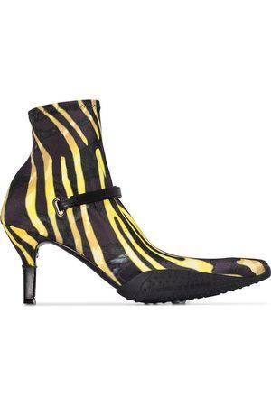 adidas Femme Bottines - Bottines style chaussettes à motif zébré