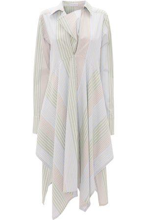 adidas Femme Robes imprimées - Robe-chemise à rayures