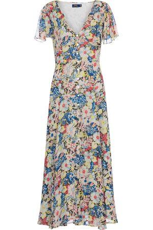 adidas Robe longue à fleurs