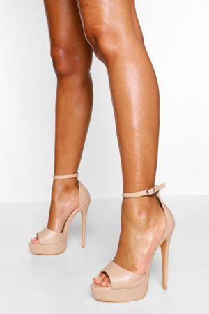 Boohoo Femme Escarpins - Chaussures Pieds Larges À Plateformes Et Talons Aiguilles