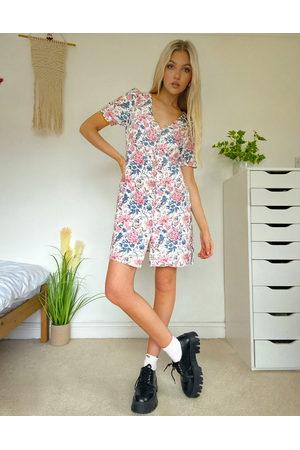 Oasis Robe boutonnée à imprimé floral