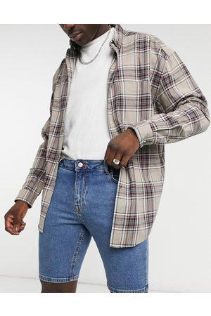 ASOS Short en jean skinny - délavé moyen plat