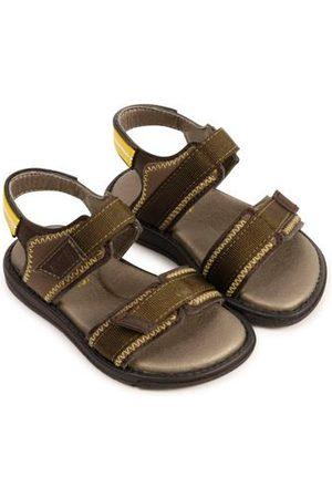 HUGO BOSS Sandales bicolores à scratch