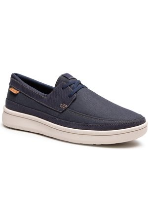 Clarks Homme Chaussures basses - Chaussures basses - Cantal Lace 261598117 Navy Canvas