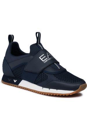 EA7 Sneakers - X8X066 XK199 N440 Navy/Silver/Honey