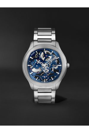 PIAGET Homme Polos - Polo Skeleton Automatic 42mm Stainless Steel Watch, Ref. No. G0A45004