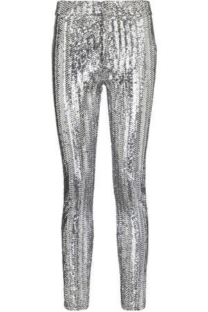 Isabel Marant Femme Pantalons Slim & Skinny - Pantalon skinny Todiz à sequins