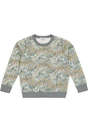 BONPOINT Garçon Sweatshirts - Sweat-shirt imprimé en coton à étoffe Liberty