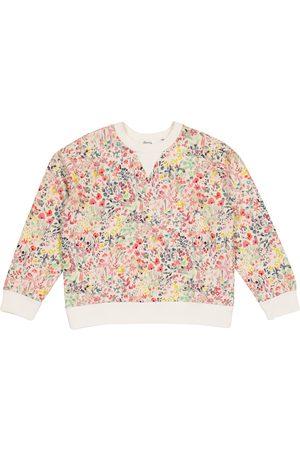 BONPOINT Sweat-shirt en coton à étoffe Liberty