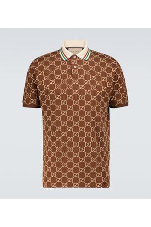 Gucci Polo GG en coton stretch