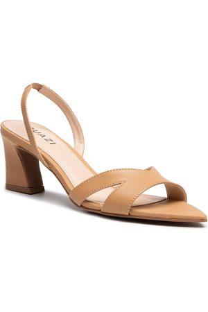 QUAZI Femme Sandales - Sandales - QZ-47-06-001000 Beige