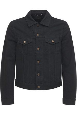 Saint Laurent Homme Vestes en jean - Veste Cintrée En Denim De Coton