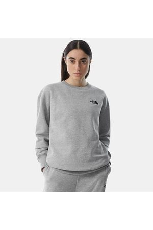 The North Face Sweatshirt Oversized Essential Pour Femme Tnf Light Grey Heather Taille L