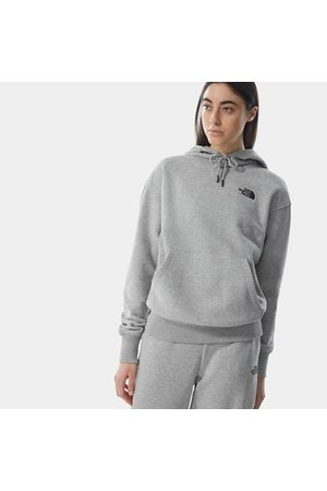 The North Face Sweat À Capuche Oversized Essential Pour Femme Tnf Light Grey Heather Taille L