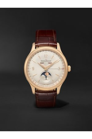 Jaeger-LeCoultre Master Control Calendar Automatic 40mm 18-Karat Rose and Alligator Watch, Ref No. Q4142520