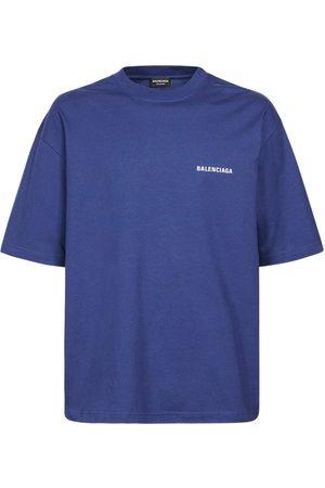 Balenciaga T-shirt En Coton Imprimé Logo