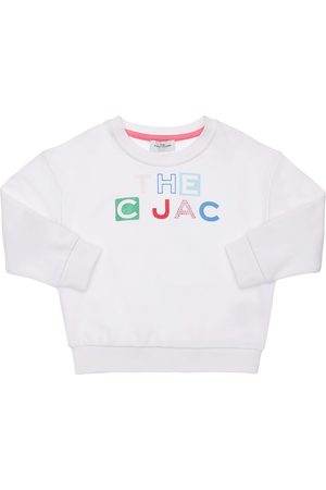 Marc Jacobs Sweat-shirt En Coton Imprimé Logo