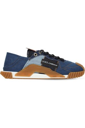 "Dolce & Gabbana Baskets En Patchwork De Denim ""ns1"""