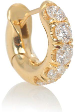 SPINELLI KILCOLLIN Boucle d'oreille unique Mini Macro Hoop en 18 ct et diamants
