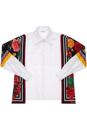 Dolce & Gabbana Fille Chemisiers - Chemise En Popeline De Coton