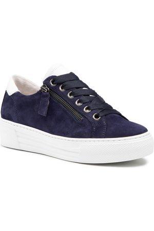 Gabor Femme Baskets - Sneakers - 66.465.36 Bluette/Weiss