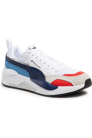 PUMA Homme Baskets - Sneakers - Bmw Mms X-Ray 2.0 306771 02 White/Blueprint