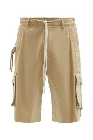 JW ANDERSON Homme Shorts - Short en sergé de coton à poches plaquées