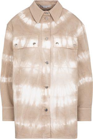 Stella McCartney Femme Vestes en jean - Veste tie & dye en jean