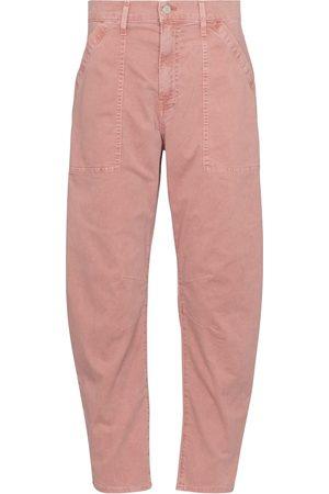 VERONICA BEARD Pantalon Charlie à taille haute en coton