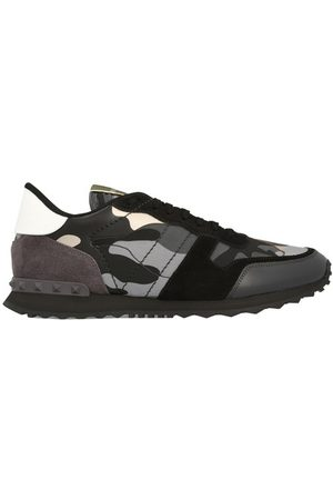 VALENTINO Homme Baskets - Sneakers Rockrunner camouflage