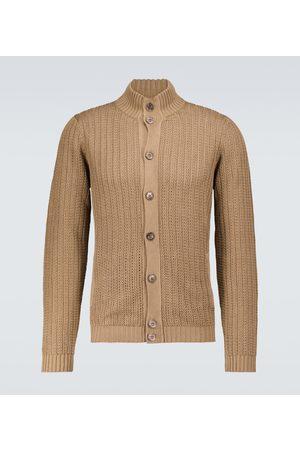 ZANONE Cardigan en lin et coton
