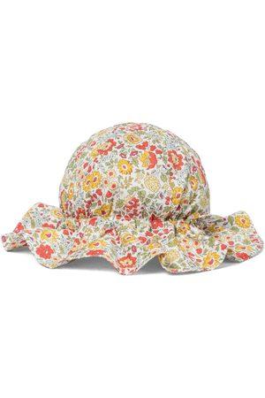 Caramel Chapeau Marlin en coton à fleurs