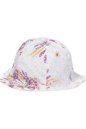 MONNALISA Bébé – Chapeau à fleurs en coton