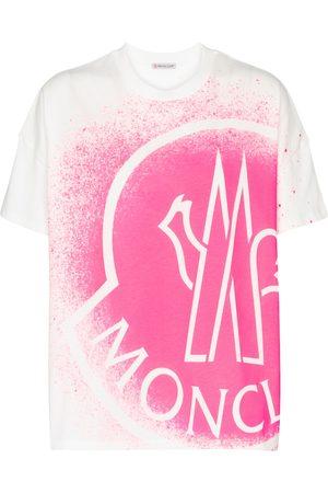 Moncler T-shirt imprimé en coton à logo