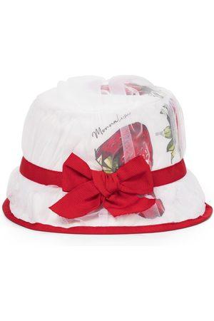 MONNALISA Chapeau Strawberry en coton