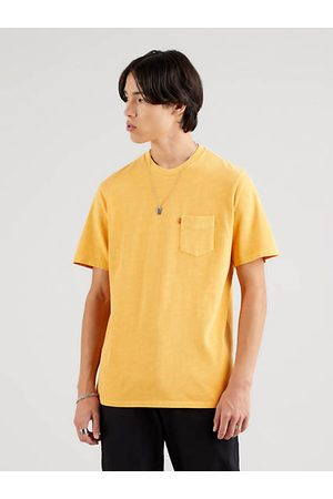 Levi's Homme Manches courtes - Relaxed Fit Pocket Tee Neutral / Kumquat Garment Dye