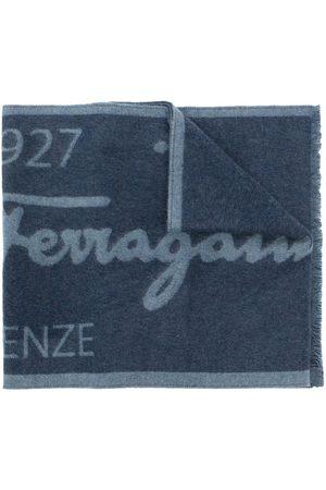 Salvatore Ferragamo Homme Écharpes & Foulards - écharpe bicolore à logo